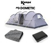 Kampa Watergate 8 Tent 2020 (Inc Carpet + Footprint)
